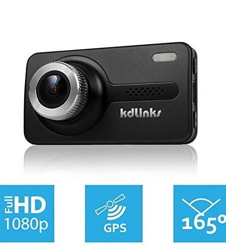 KDLINKS X1 GPS HD Dash Camera