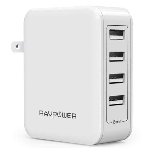 Anker 40W 4-Port USB Wall Charger