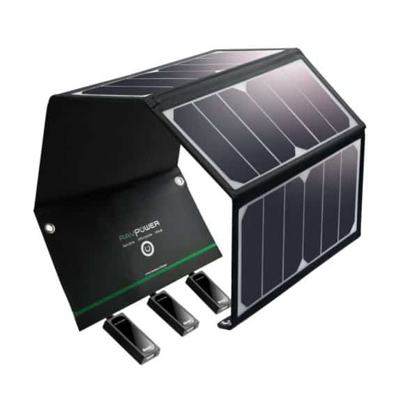 24W RAVPower solar charger