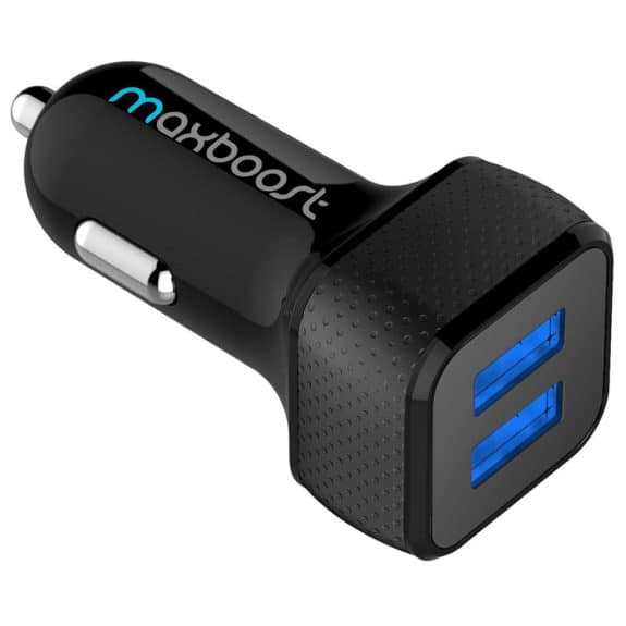 Maxboost 4.8A/24W 2 USB Car Charger
