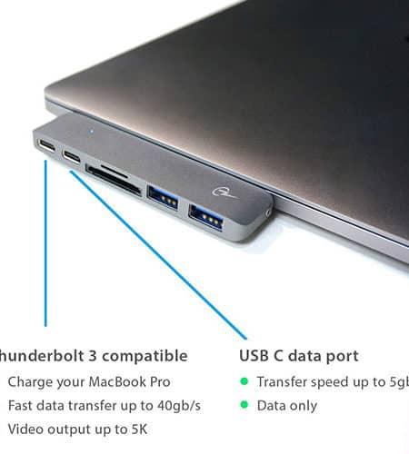 Charjenpro USB-C MacStick Hub