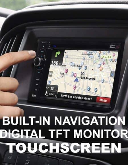 BOSS Audio BV9386NV Navigation