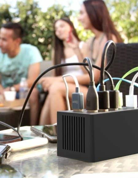 Sabrent 60 Watt 10-Port USB Rapid Charger