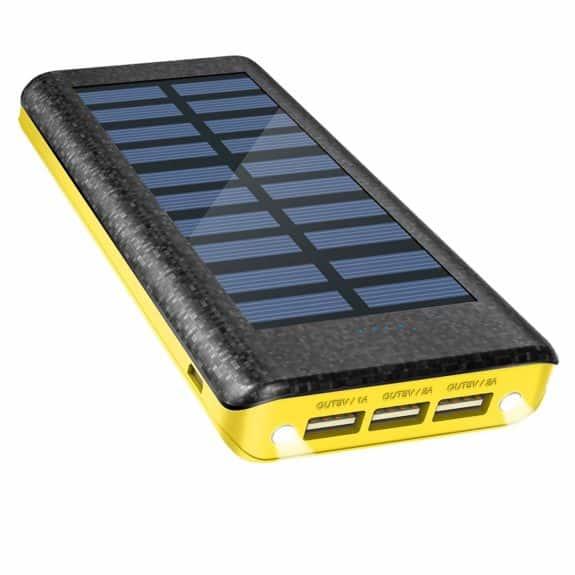 OLEBR 24000mAh Solar Charger