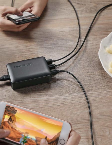 RAVPower 60W iSmart 6-Port USB Charging Station