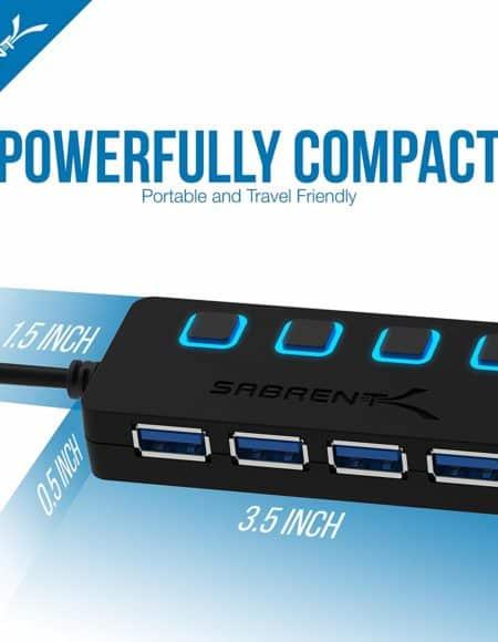 Sabrent 4-Port USB 3.0 Hub