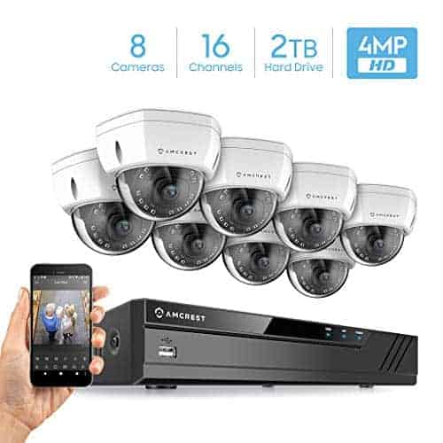 Amcrest 8x 4MP UltraHD Security CCTV