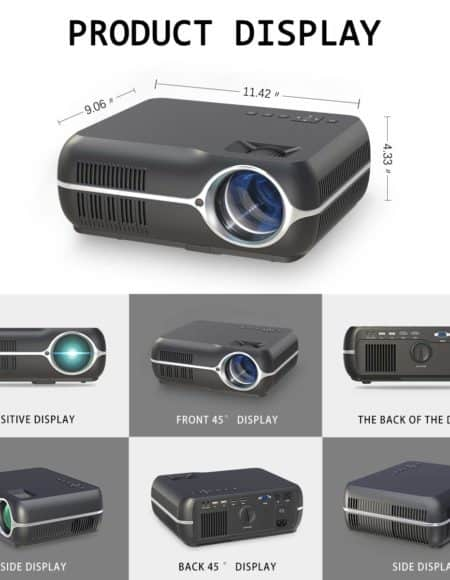 Mini Projector Full HD 1080P Projector