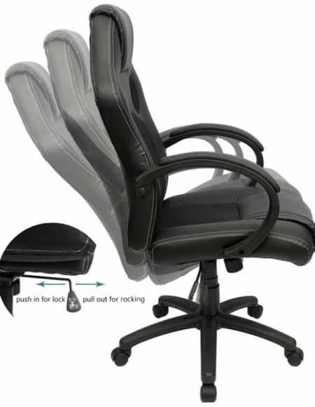 Furmax Leather Office Chair