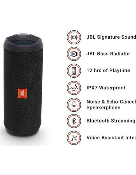 JBL Flip 4 Waterproof Bluetooth Speaker