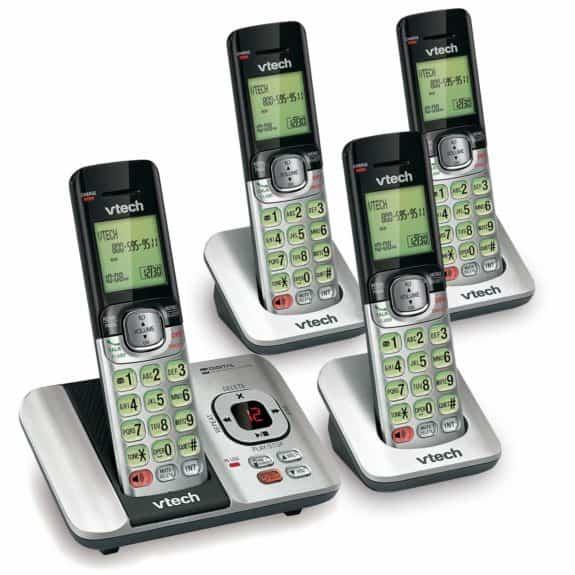 VTech CS6529-4 DECT 6.0 Phone