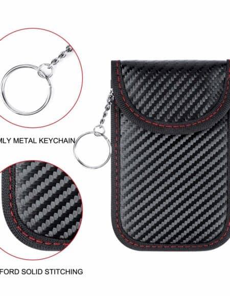 Faraday Bag Key Fob Signal Blocking