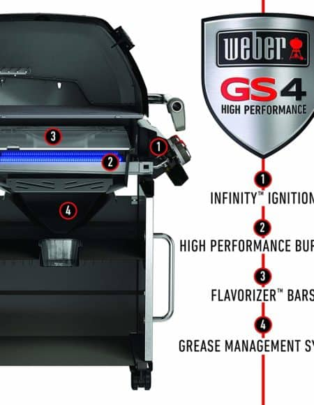 Weber-Stephen Genesis II E-410 Gas Grill BBQ