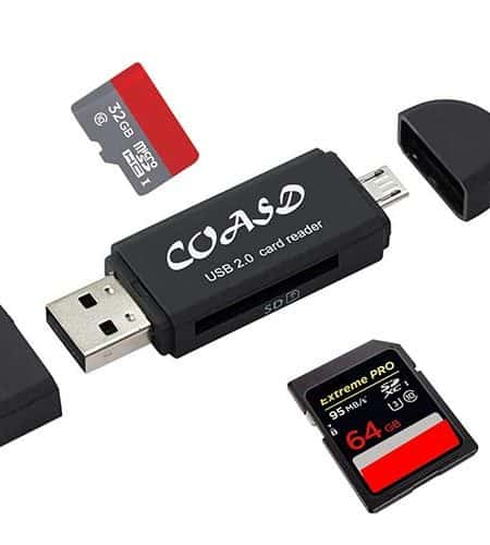 iPhone SD Card Readers and Android SD Card Reader | GearTek