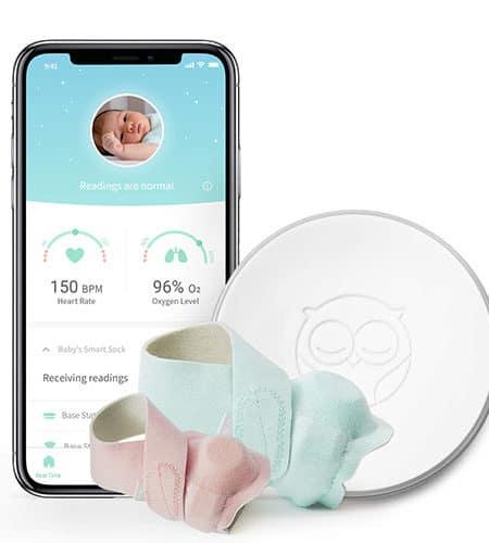 Owlet smart socket baby monitor