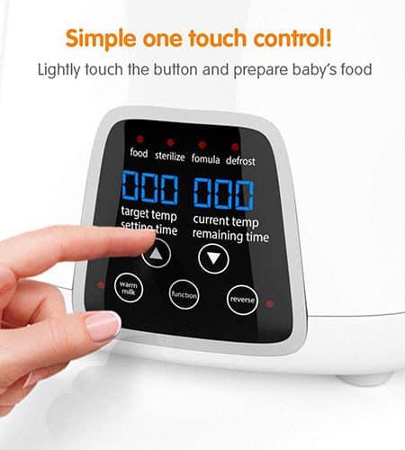 TBI-Pro Bottle Warmer 5-in-1 BPA-Free