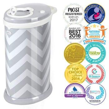Ubbi Steel diaper pail bin